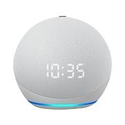 Amazon Echo Dot (4th Gen) 53-023502 Streaming Media Speaker with Clock, Glacier White