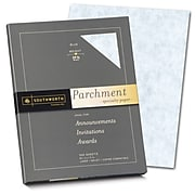 "Southworth Parchments 8.5"" x 11"" Multipurpose Paper, 24 Lbs., 100 Brightness, Blue, 100/Box (P964CK)"