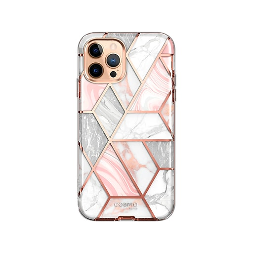 i-Blason Cosmo Marble Pink Case for iPhone 12 Pro Max ...
