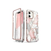 i-Blason Cosmo Marble Pink Case for iPhone 12 (iPhone2020-6.1-Cosmo-SP-Marble)