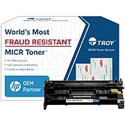 Troy Compatible Black Standard Yield MICR Toner Cartridge Replacement for HP 58A (CF258A)