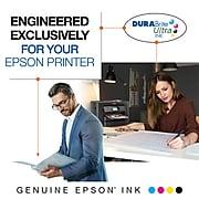Epson 220XL Black/Cyan/Magenta/Yellow High Yield Ink Cartridge, 4/Pack