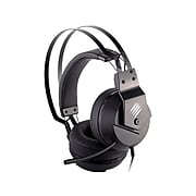 Mad Catz F.R.E.Q.2 Wired Over-the-Ear Gaming Headset, Black