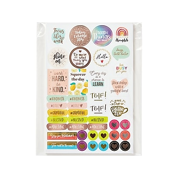 Avery Planner Variety Pack Stickers, Assorted Colors, 1744/Pack (6785)