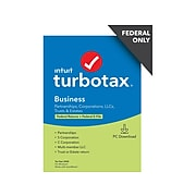 TurboTax Business 2020 Federal Only for 1 User, Windows, Download (0608673)