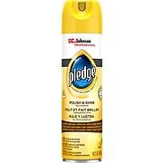 Pledge Polish and Shine Multiple-Purpose Cleaner, Lemon,14.2 oz (301168)