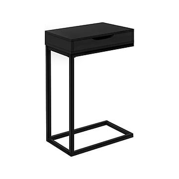 "Monarch Specialties Inc. 16"" x 10.25"" Accent Table, Black (I 3600)"
