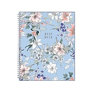 "2021-2022 Blue Sky 8.5"" x 11"" Academic Planner, Lilian, Multicolor (127136)"