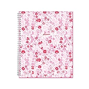 "2021-2022 Blue Sky 8.5"" x 11"" Academic Planner, Good Vibes Dreamy Ditzy, Pink (131018)"