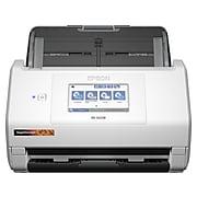 Epson RapidReceipt RR-600W Wireless Duplex Receipt Scanner, White/Black (B11B258202)