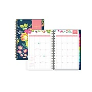 "2021-2022 Blue Sky 5"" x 8"" Academic Planner, Day Designer, Peyton Navy (107927-A22)"