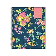 "2021-2022 Blue Sky 8.5"" x 11"" Academic Planner, Day Designer, Peyton Navy (107924-A22)"