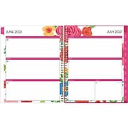 "2021-2022 Blue Sky 8.5"" x 11"" Academic Planner, Mahalo, Multicolor (100149-A22)"