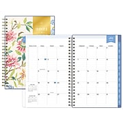 "2021-2022 Blue Sky 5"" x 8"" Academic Appointment Book, Day Designer Climbing Floral Blush, Multicolor (132249)"