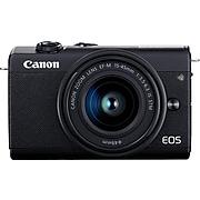 Canon EOS M200 24.1 Megapixels Digital Mirrorless AF/AE Camera, Black