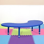 Flash Furniture Kidney Activity Table, Blue (YUYCX04MOONTBBL)