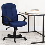 Flash Furniture Fabric Computer and Desk Chair, Navy Blue (GOST6NVYFAB)