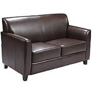 Flash Furniture HERCULES Diplomat Leather Love Seats