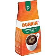 Dunkin' Decaf Ground Coffee, Medium Roast (00048)