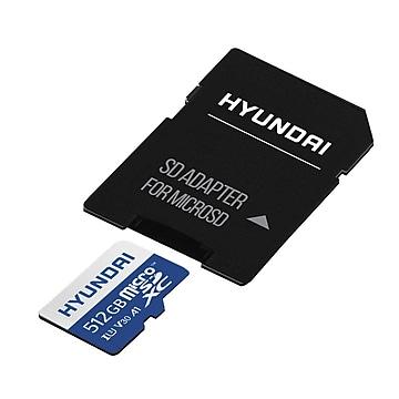 Hyundai SDC512GU3 512GB Flash Memory, microSDXC
