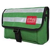 Manhattan Portage Wards Island Fabric Casual Messenger Bag, Green (1120 GRN)