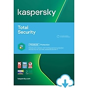 Kaspersky Total Security for 3 Devices, 1 Account, 1 Year, Windows/Mac, Download (KL1949ADCFS-USO)