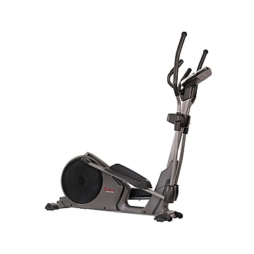 Sunny Health and Fitness Pre-Programmed Elliptical Trainer, 15.5  Stride (SF-E3912)