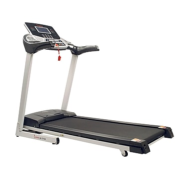 Sunny Health & Fitness Energy Flex Motorized Treadmill (SF-T7724),Size: med