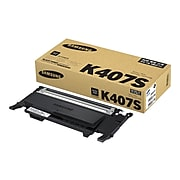 Samsung CLT-K407 Black Standard Yield Toner Cartridge (SU134A)