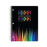 "2021-2022 Global Printed Products 8.5"" x 11"" Academic Planner, Multicolor (SC21-SM-8511-S)"