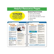 """2021-2022 Global Printed Products 8.5"""" x 11"""" Academic Planner, Multicolor (SC21-SM-8511-S)"""