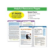 """2021-2022 Global Printed Products 5.5"""" x 8.5"""" Academic Planner, Multicolor (SC21-SB-5585-S)"""