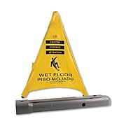 """Spill Magic Pop Up Safety Cone, 3"""" x 2 1/2"""" x 20"""", Yellow (FAO220SC)"""