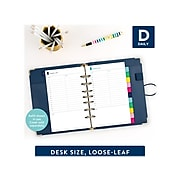 "2022 AT-A-GLANCE 5.5"" x 8.5"" Refill, Simplified by Emily Ley, Multicolor (EL100-4311-22)"
