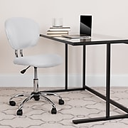 Flash Furniture Mesh Task Chairs With Chrome Base (H2376FWHT)