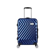 Luggage Tech Monaco Polycarbonate 4-Wheel Spinner Luggage, Blue (HLGC3018NV28-88)
