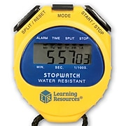 Learning Resources Big Digit Digital Stopwatch, Yellow (LER0525)