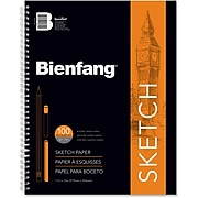 "Bienfang 11"" x 14"" General Purpose Sketch Pad, 100 Sheets (R237130)"