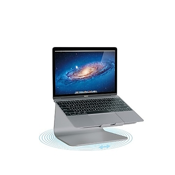 Rain Design mStand360 Laptop Stand with Swivel Base, Space Grey