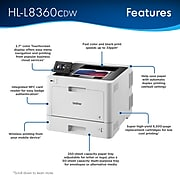 Brother HL-L8360CDW Wireless Color Laser Printer