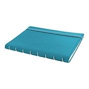 "Filofax A5 4-Subject Professional Notebook, 8 1/4"" x 5 13/16"", College Ruled, 56 Sheets, Aqua (B115012U)"