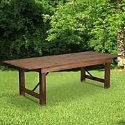 Flash Furniture Wood Folding Farm Table(XAF96X40)