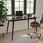"Flash Furniture 55"" Wood Dining Walnut (SK17GC034W)"