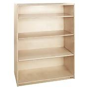"Wood Designs Bookshelf with Adjustable Shelves, 49""H (12900AJ)"