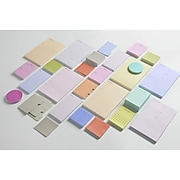 """Noted by Post-it® Brand, Grey Lined List Notes, 2.9"""" x 5.7"""", 100 Sheets/Pad, 1 Pad/Pack (NTD-36-GRY)"""