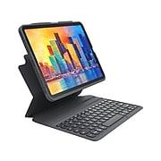 "Zagg 103406884 Pro Keys Polycarbonate Keyboard Case for 10.9"" iPad Air, Black"