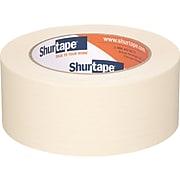 """Shurtape CP 105 1.89"""" x 60.15 Yds. Masking Tape, Natural, 24/Carton (120407)"""