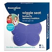 Bouncy Bands Butterfly Wiggle Seat, Kids Sensory Cushion, Purple (BBAWSSBUPU)