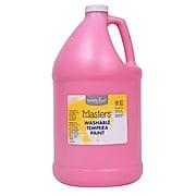 Handy Art Little Masters Washable Tempera Paint, Pink, Gallon (RPC214722)