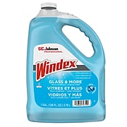 Windex Glass Cleaner with Ammonia-D, Floral, 128 oz. (696503)
